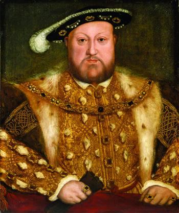 Henrike VIII. a Ingalaterrakoak (1491-1547) lau