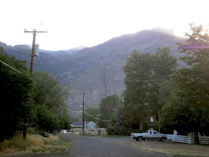 Surprise Valley ondoan dagoen Little High Rock Canyon inguruan (Nevada) jazo zen 1911ko tragedia.