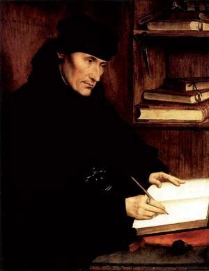Rotterdameko Erasmo 1517an. Hamahiru urte geroago haurren portaera egokiari buruzko lana idatzi zuen.