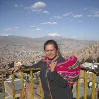 Emakume borrokalaria da Morena Herrera: �Deus ez da itzulezina. Beti mailukatzen egon behar duzu�.
