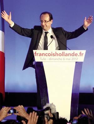 François Hollandek konfiantza eskatu die herritarrei, presidente aukeratua izan bezain pronto.