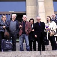 Argentinako Auzitegi Federalean frankismo garaiko hainbat preso ohi izan ziren epaileari haien testigantza ematen.