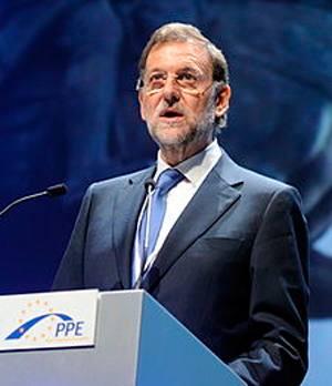 Mariano Rajoy biltzarrean