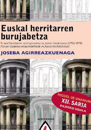 Euskal Herritarren Burujabetza liburuko azala