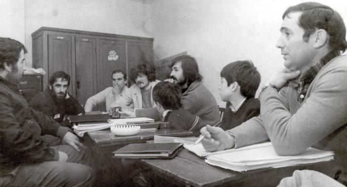 Gasteizko bertso eskola 1982an.