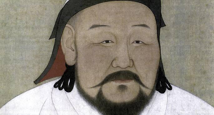 Kublai Khan mongoliar enperadorea.