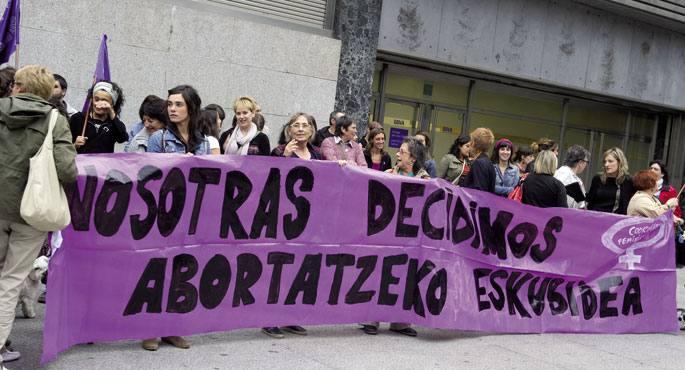 Abortua Despenalizatzearen Aldeko Nazioarteko Egunean (irailak 28)