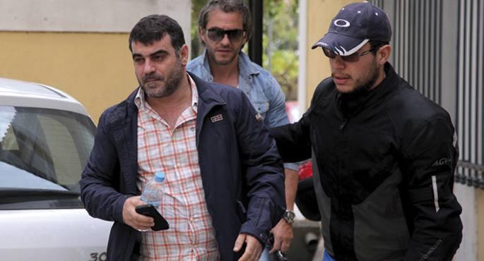 Kostas Vaxevanis atxilotu zuten unea.