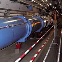 CERNeko azeleragailua atseden hartzen