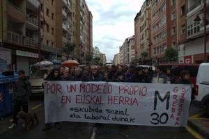 Manifestazioa Barakaldon.
