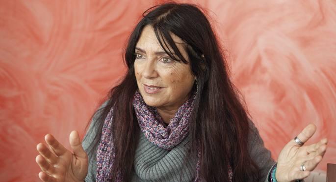 Liliana Ugartek euskaldunak zituen aitona-amonak, Amezketan eta Urdazubin haien erroak.