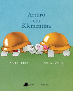 Arturo eta Klementina liburuaren azala.