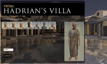 Villa Adriana 3D-n berpiztuko dute