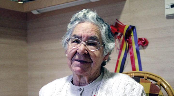 Josefina Lamberto Yoldi. (Arg:Koldo Azkune)