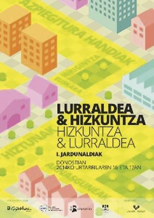 'Lurraldea eta Hizkuntza' jardunaldiak 16an eta 17an