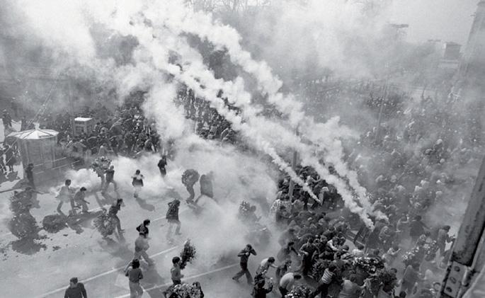 1976ko martxoaren 3a, Gasteiz. Greba orokorra zela eta, milaka langile bildu ziren San Frantzisko elizan, Zaramaga auzoan. Poliziak eliza ingurua hesitu eta gogor erreprimitu zituen asanbladan bildutakoak. Bost lagun hil zituen.