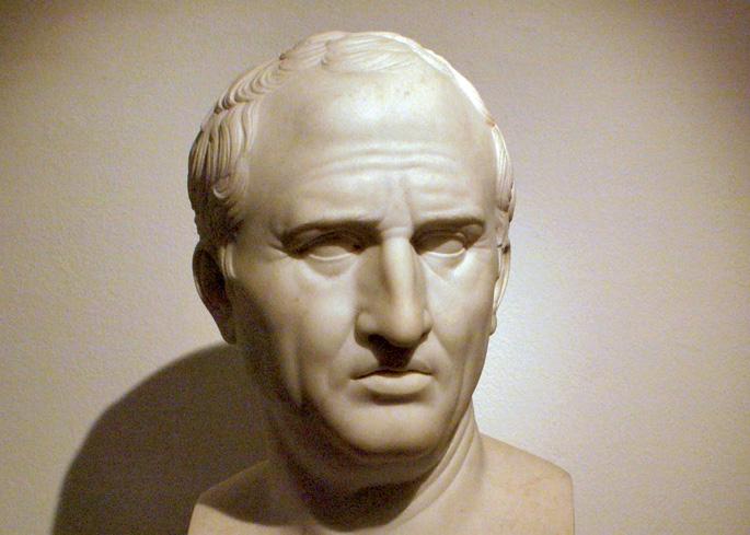 Marko Tulio Zizeron (K.a. 106-43) politikari eta filosofo ezagunari gaurkotasun handiko aholkuak eman zizkion Kinto anaiak .