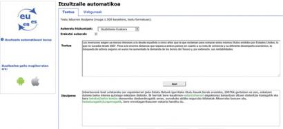 5 milioi dokumentu itzuli ditu 2013an Eusko Jaurlaritzaren itzultzaile automatikoak