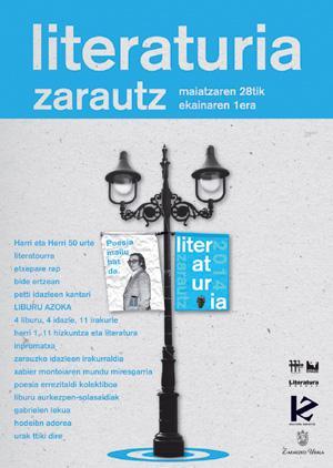 Euskal letren plaza berezitua Zarautza aldatu da