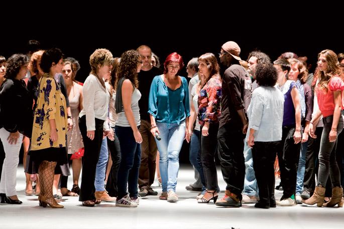 Casabranca taldeak Atlas Bilbao performance-antzerkia erakutsiko du.