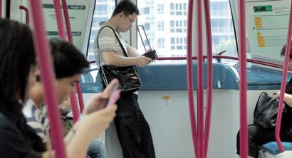 Smartphonekiko mendetasuna, psikiatren pagotxa Asian