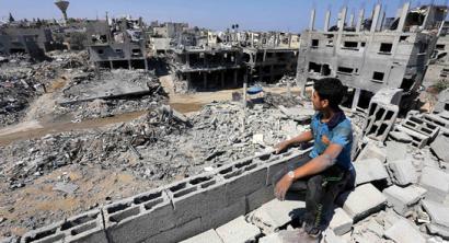 Infernua zenbakitan: Gaza 50 eguneko gerra isildu ostean