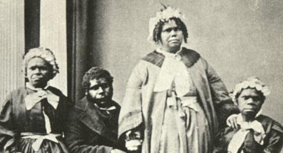 Tasmaniako aborijena bost libratan