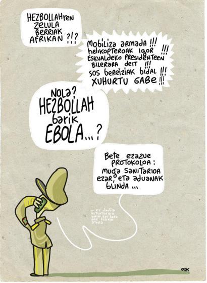 Hezbollah eta Ebola