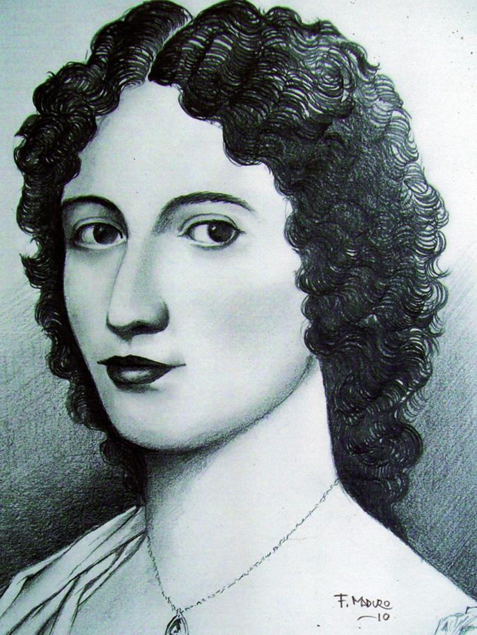 Manuela Saenz Aizpuru (1797-1856) Simon Bolivarren bikotekide eta borrokakide izan zen zortzi urtez.