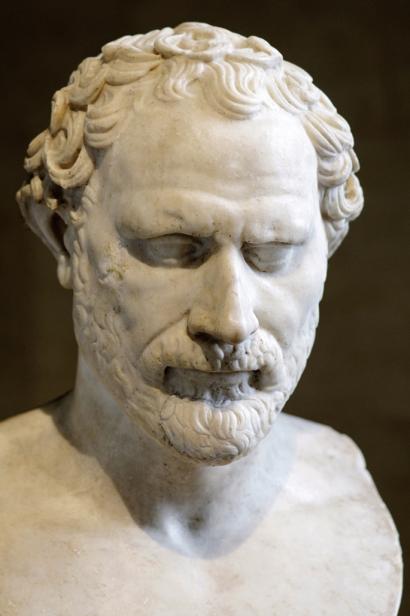 Demostenes, politikari ustelen aitzindari