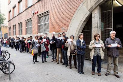 Kataluniako jendeak du boterea