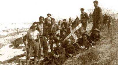 Euzkadiren askatasuna amets, nazien kontra borrokan