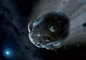 Asteroideen aurkako defentsa prestatzen