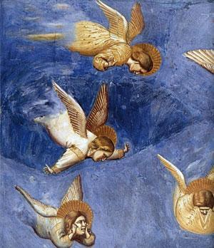 Giotto: egunez margotu, gauez zizelatu
