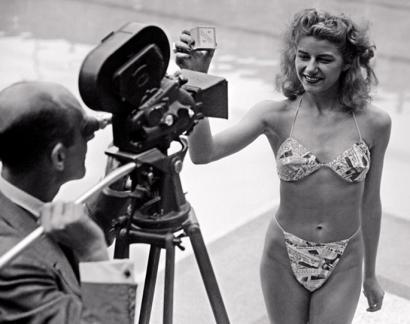 Bikinia, bonba atomikoak adina eragin izango zuen bainujantzia