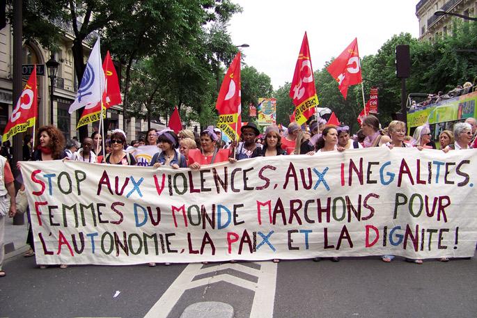 Alternatiba feministak, Kurdistanetik Portugalera martxan