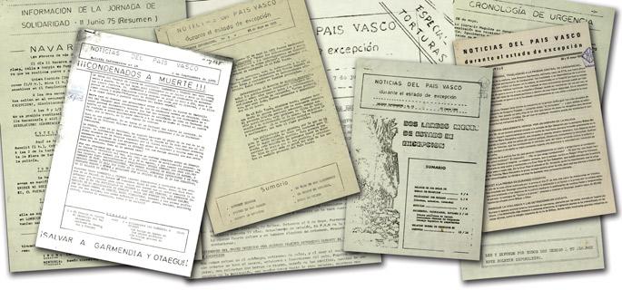 Banaketa gune nagusia Aranda de Dueron zegoen, hortik banatzen zen buletina Euskal Herrira, Sevillara, Bartzelonara edota Valentziara.