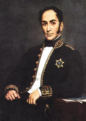 Bolivar eta espainiarrak garbitzeko bidea