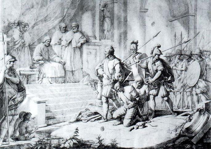 Euskaldun bat Erromako portuaren jabe