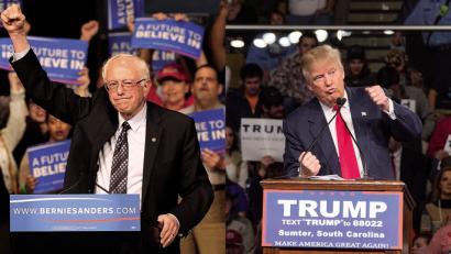 Eta krisi handiak Trump eta Sanders errun zituen zazpigarren urtean