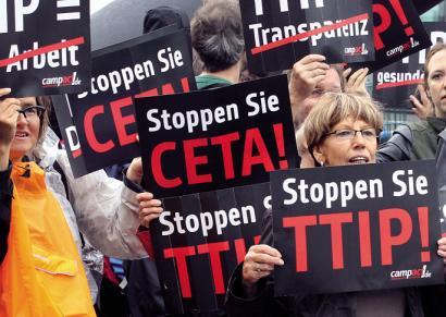 Oharkabean, hemen dugu TTIPen klona