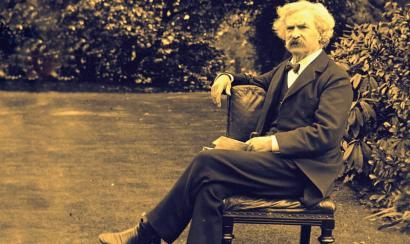 Mark Twain eta Halley kometa