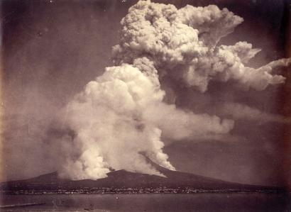 Vesuvio, Ponpeiaz haratago