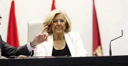 """Hondakinen lobbyaren aurrean """"ezin da"""" esan du Manuela Carmenak"""