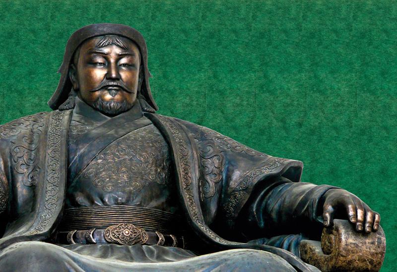 Genghis Khan (c. 1162-1227) nola hil zen ez dakigu, ezta non ehortzi zuten ere. Arkeologoen ahaleginak alferrekoak izan dira orain arte, enperadoreak berak leku ezkutuan ehortzi zezaten nahi izan zuelako.