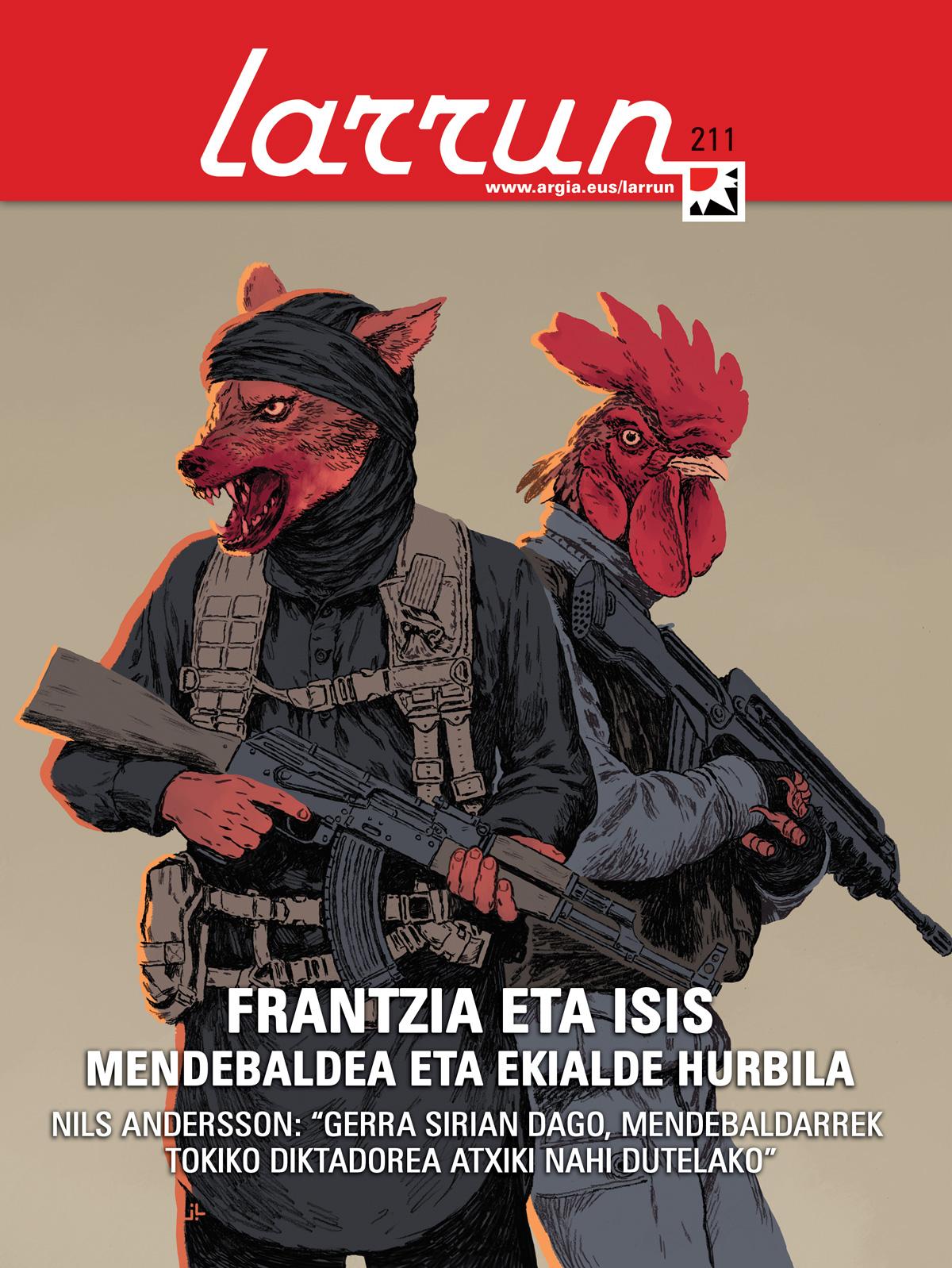 Azala: Joseba Larratxe.