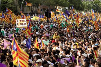 Erreferendum loteslea deika da Kataluniako Errepublikaren bide orrian