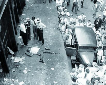 1929ko krakeko mito bat leihotik behera