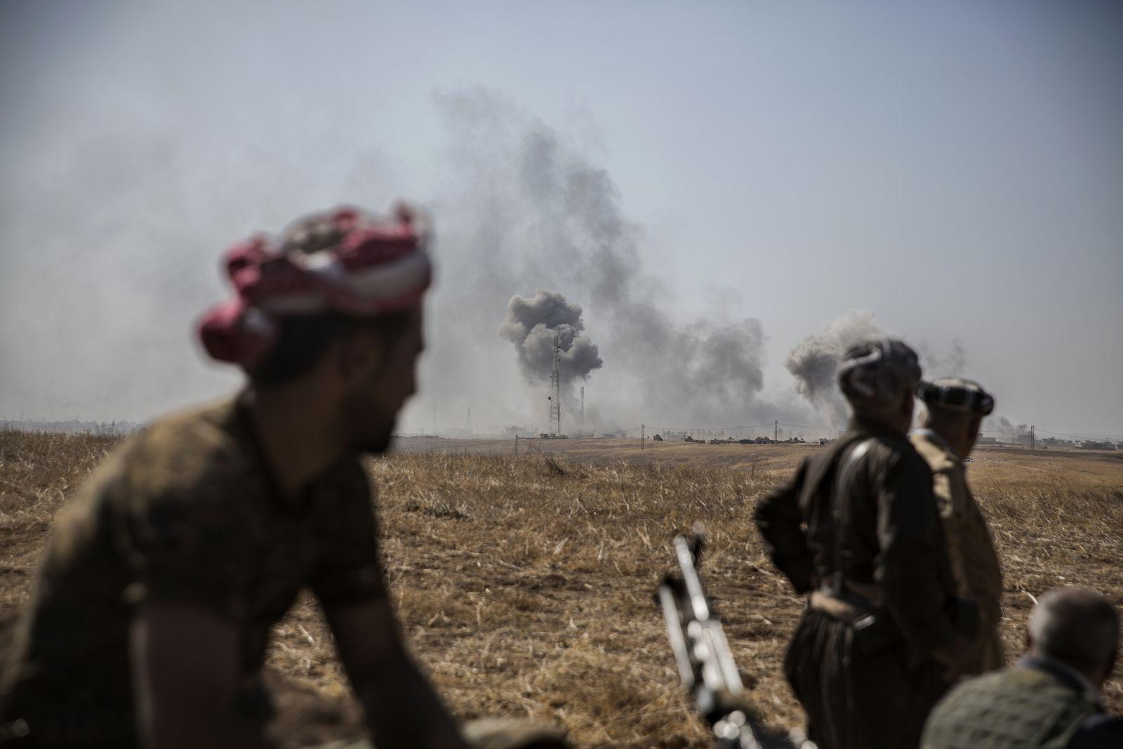 Irakeko Daeshen bihotzaren aurkako gurutzada