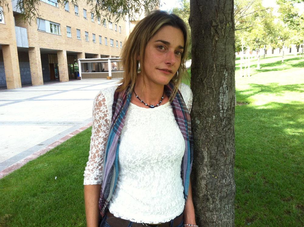 Miren Zabaleta Sorturen Zohardia txostena landu duen taldeko partaidea da. (Arg.: X. Letona)